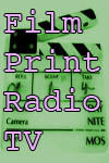 Film, Print, Radio, TV - Postcard