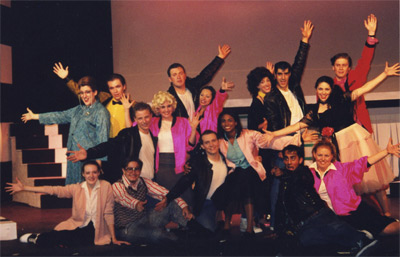 Grease Cast Finale
