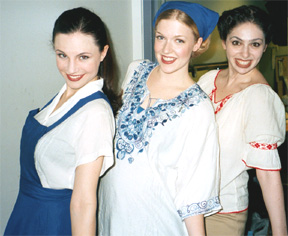 Kelly, Anna & Dara in our Shtetl outfits